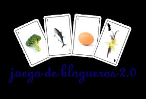 Logo juego de blogueros  azul fondo transparente blog 400x272px